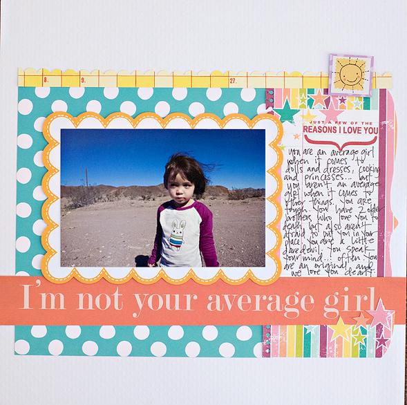 Diecut-averagegirl